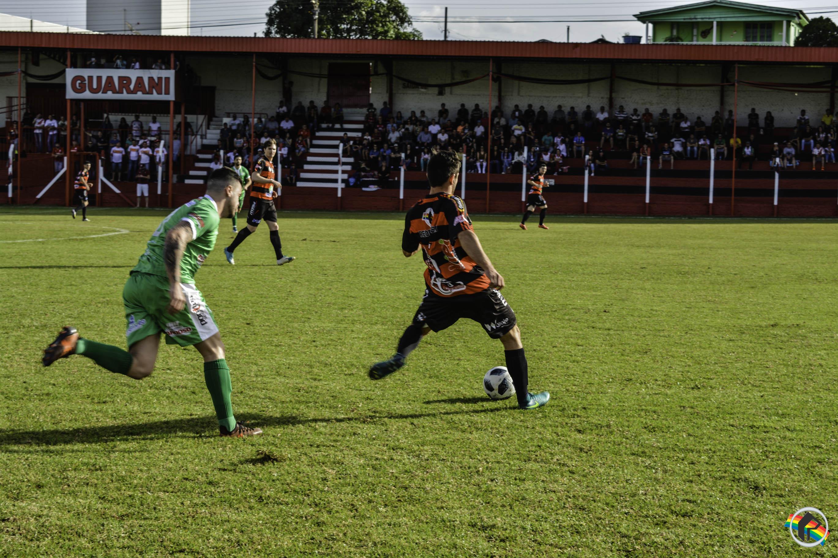 Guarani enfrenta Aliança em jogo de ida da semifinal da Copa Oeste