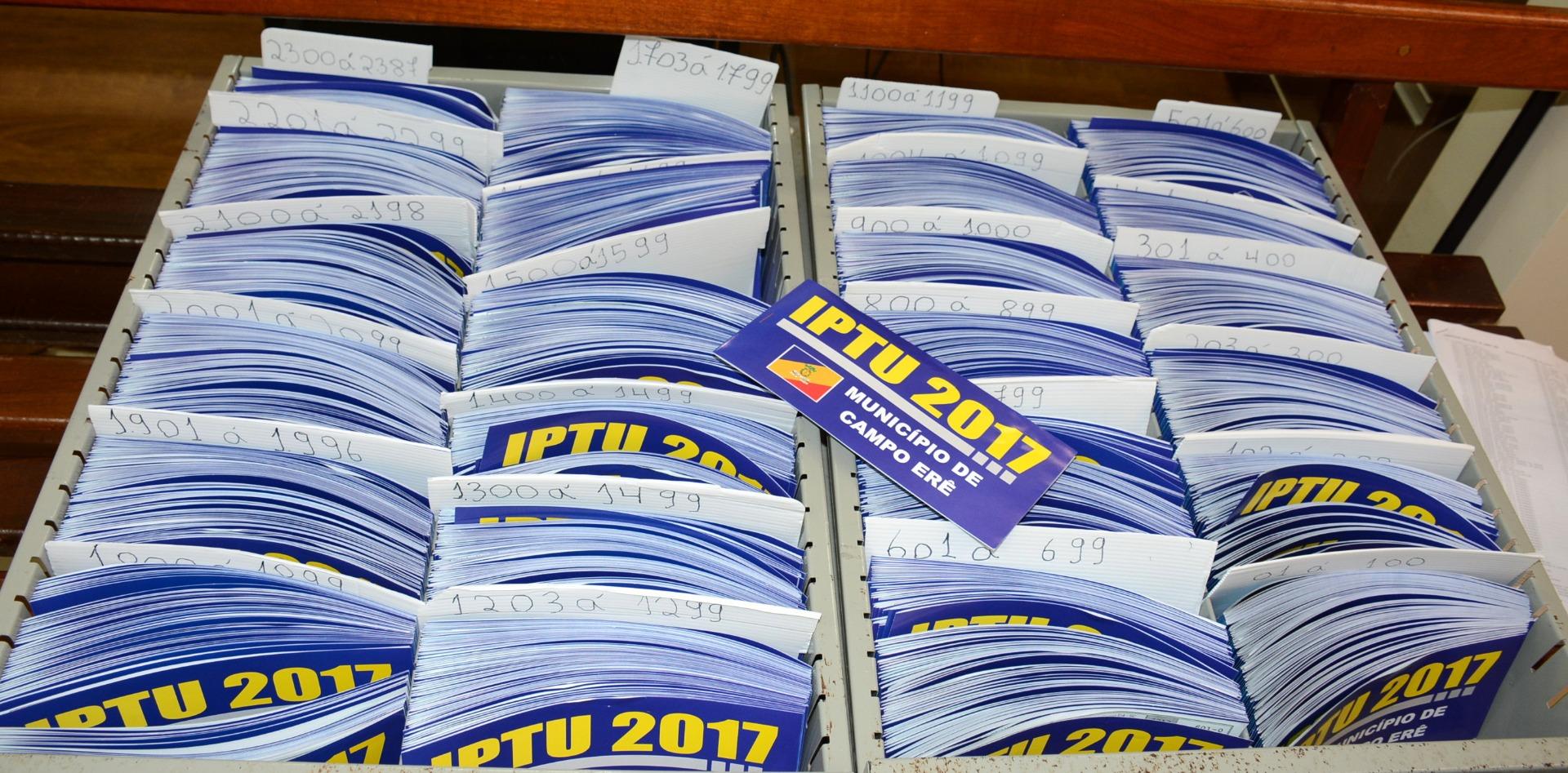 Mais de 68% dos contribuintes já pagaram o IPTU