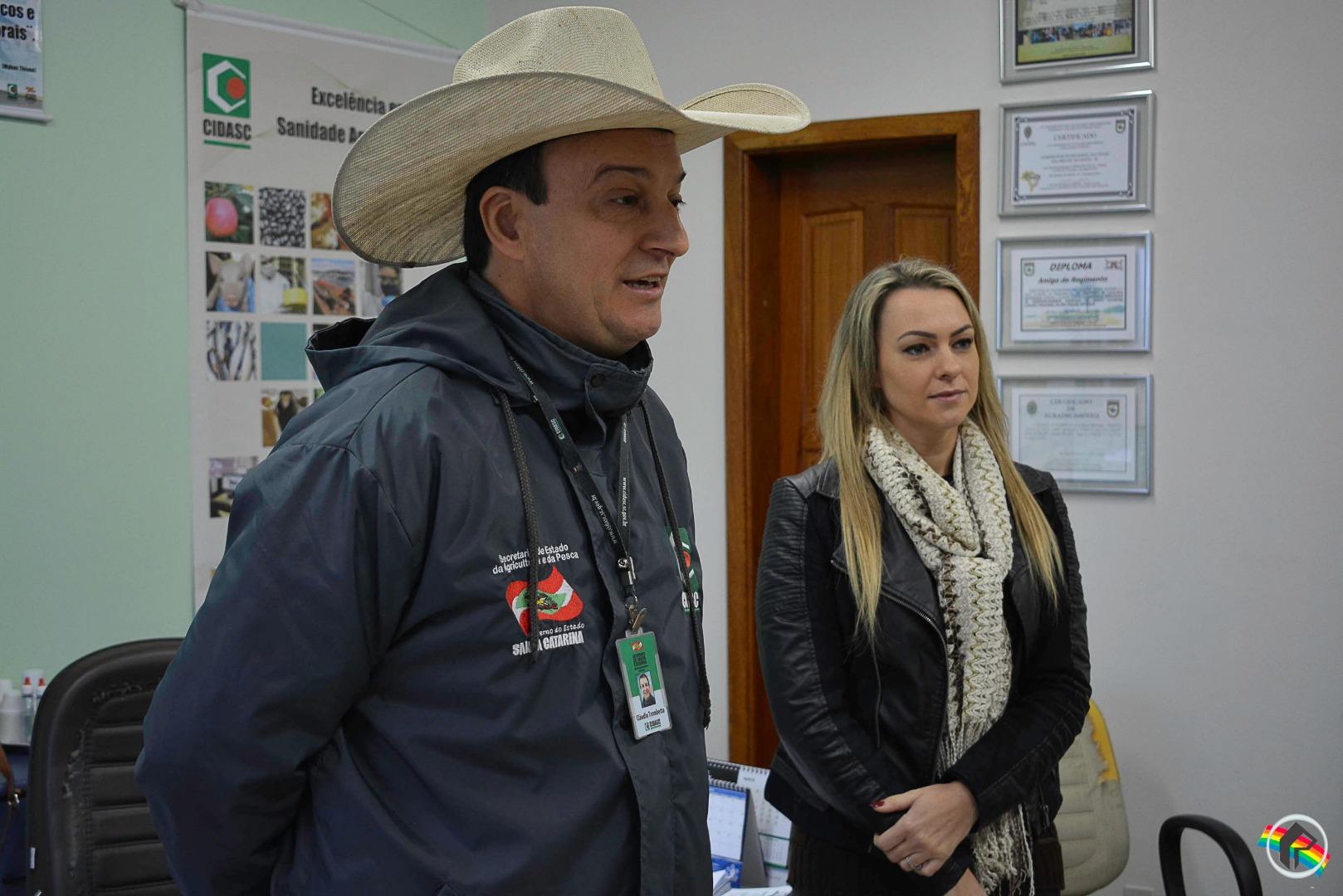 Manuela Rocha assume a Gerência Regional da Cidasc