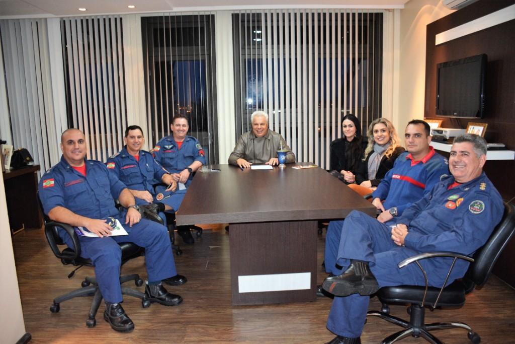 Município recebe Comando Geral de Bombeiros de SC