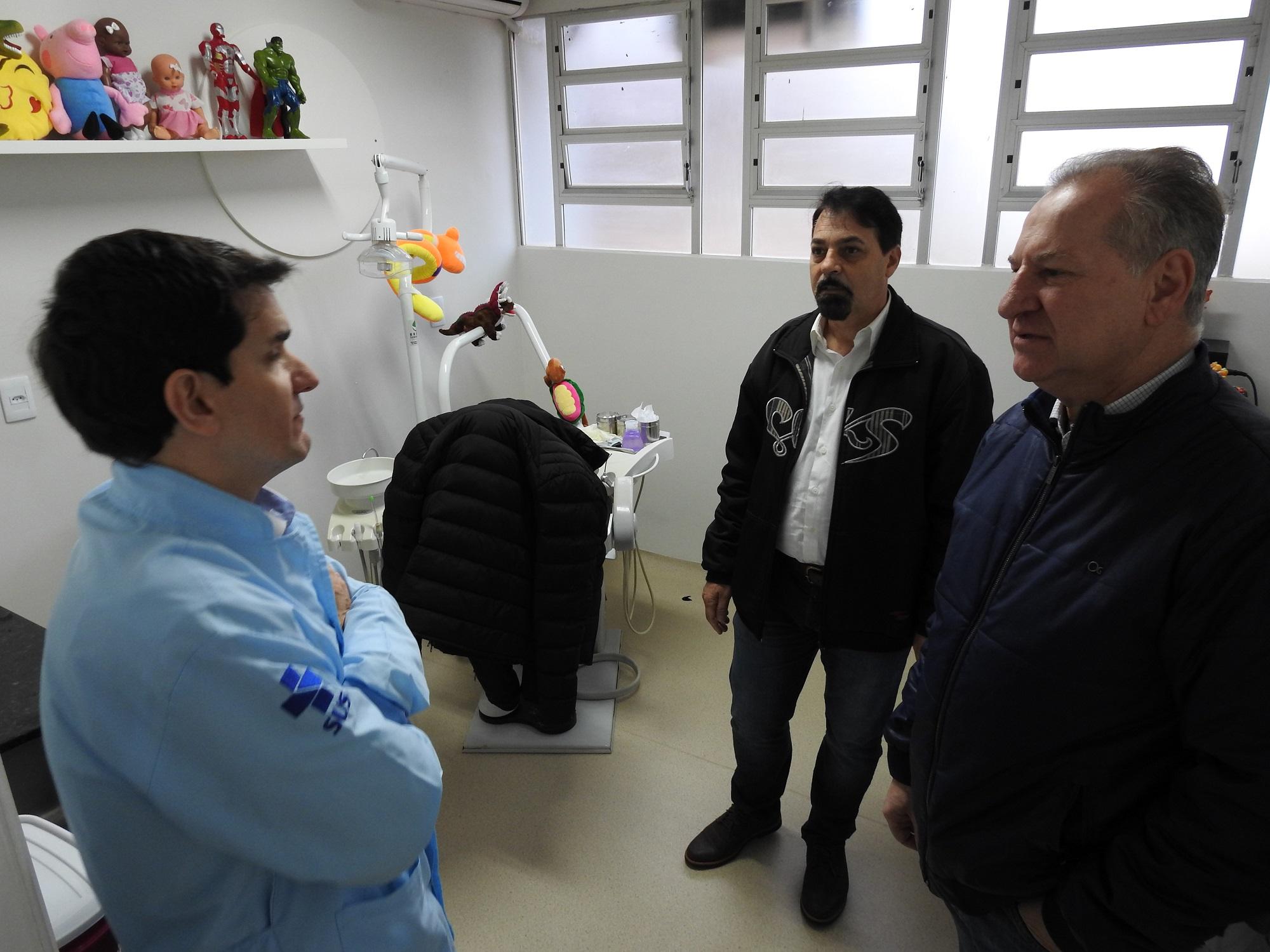 PAM e CEO passam para a Unidade Central de Saúde