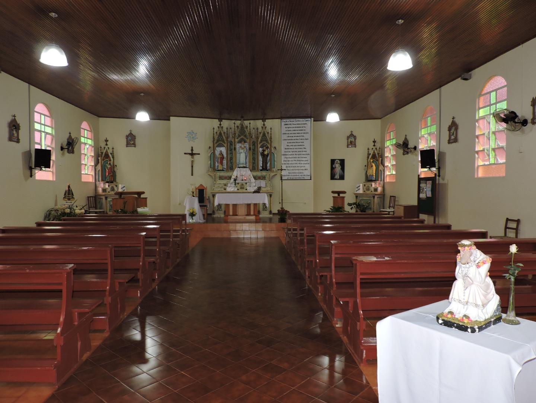 Santuário de Salete no Rio Elias recebe melhorias para Romaria