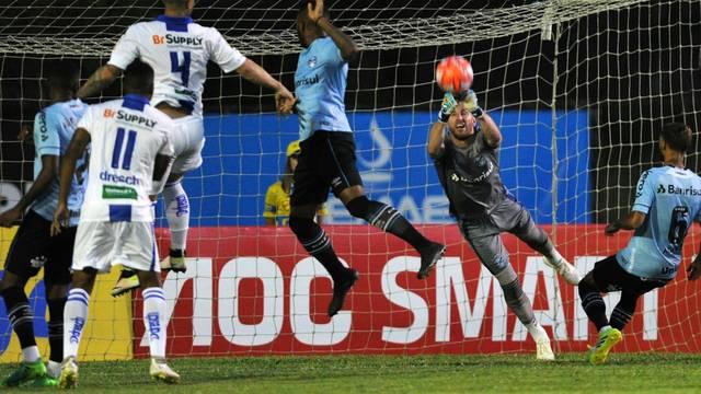 Aimoré e Grêmio empatam no Cristo Rei