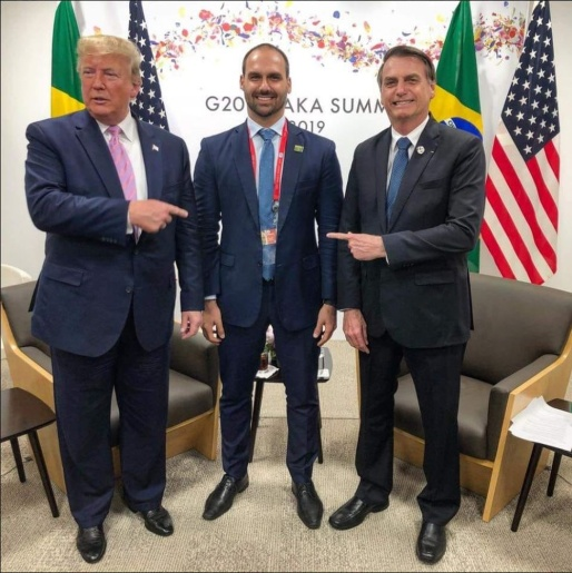 Possível nomeação de Eduardo Bolsonaro para embaixada nos EUA gera críticas