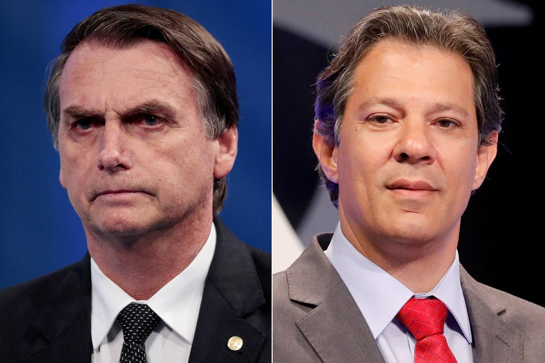 Datafolha: Bolsonaro, 58%; Haddad, 42% (votos válidos)