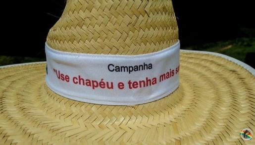 Campanha Use Chapéu e Tenha Mais Saúde será lançada neste sábado