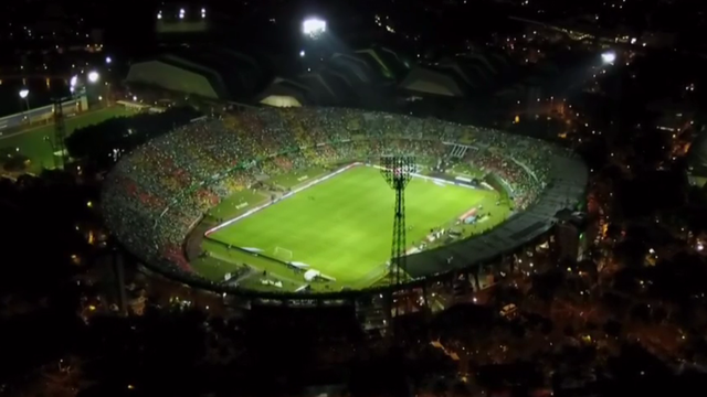 Vídeo: Atlético Nacional não dá chances e goleia Chape