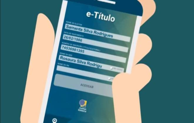E-título: aplicativo de celular dispensa o título de eleitor