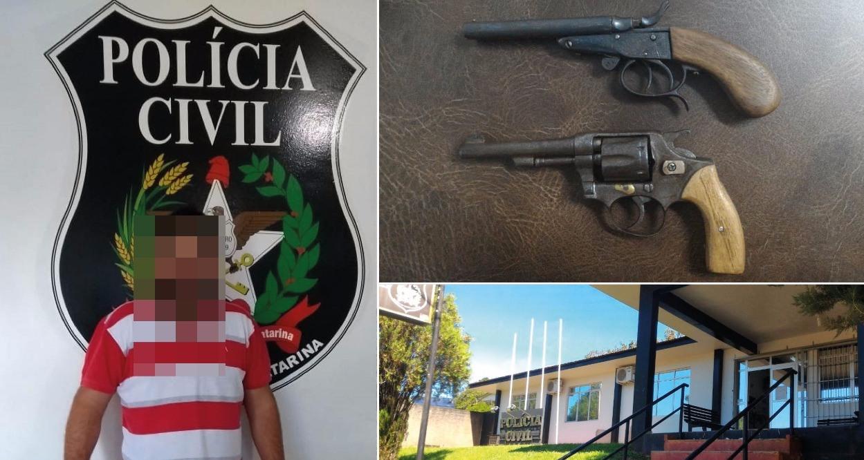 Polícia Civil apreende armas de fogo que eram comercializadas pela internet
