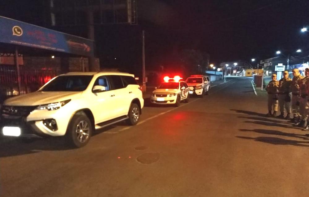 Argentino é preso em Dionísio Cerqueira com Hilux roubada no Paraná