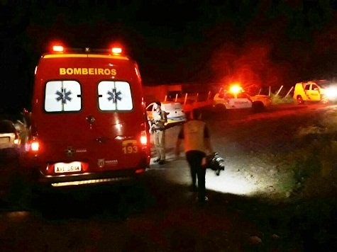 Dois homens são baleados em Marmeleiro