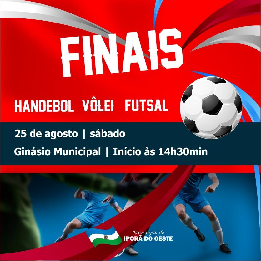 Final do Campeonato de Futsal, Vôlei e Handebol de Iporã do Oeste será neste sábado
