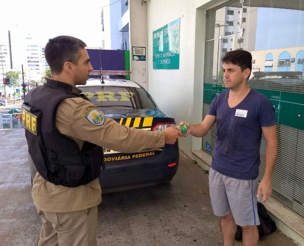 PRF transporta medicamento de SMOeste a Chapecó e ajuda a viabilizar cirurgia de urgência