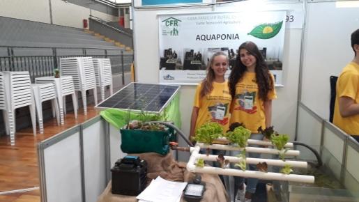 Projeto Aquaponia da Casa Familiar Rural obtém 1º lugar na Feira Estadual de Ciências e Tecnologia