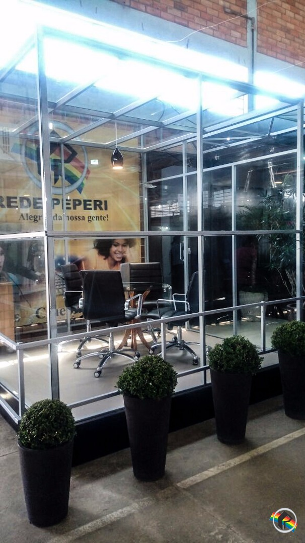 Estande da Rede Peperi está pronto para a Faismo 2017