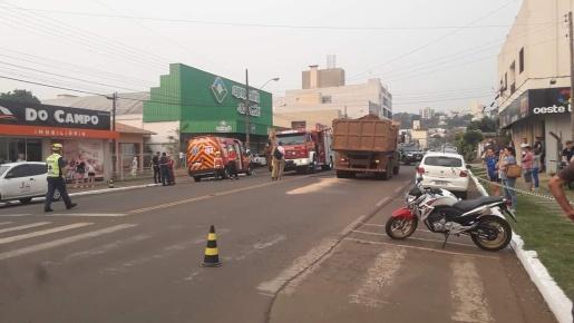 Criança de bicicleta morre em grave acidente no centro de Maravilha