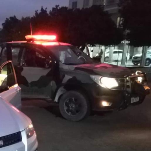 Motorista embriagado é preso após ultrapassar viatura