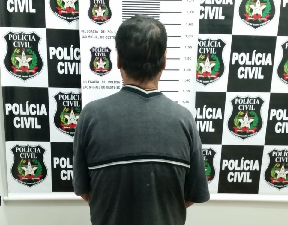 Condenado a 18 anos de prisão por estuprar criança é preso em Paraíso