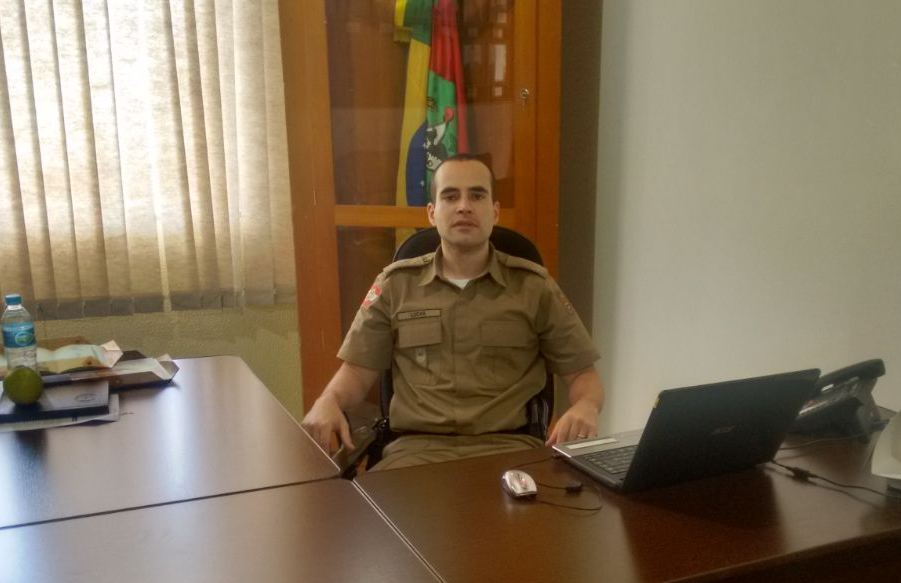 Companhia da PM de Dionísio Cerqueira recebe novo subcomandante