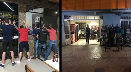 Polícia Civil realiza vistoria e fiscalização de bares e estabelecimentos