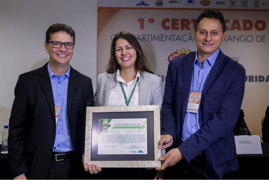 Seara Alimentos de Itapiranga recebe certificação de compartimentação