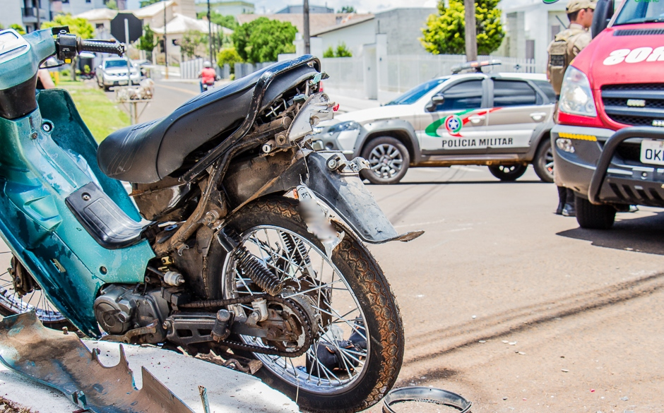 Motociclista fica gravemente ferido em Dionísio Cerqueira