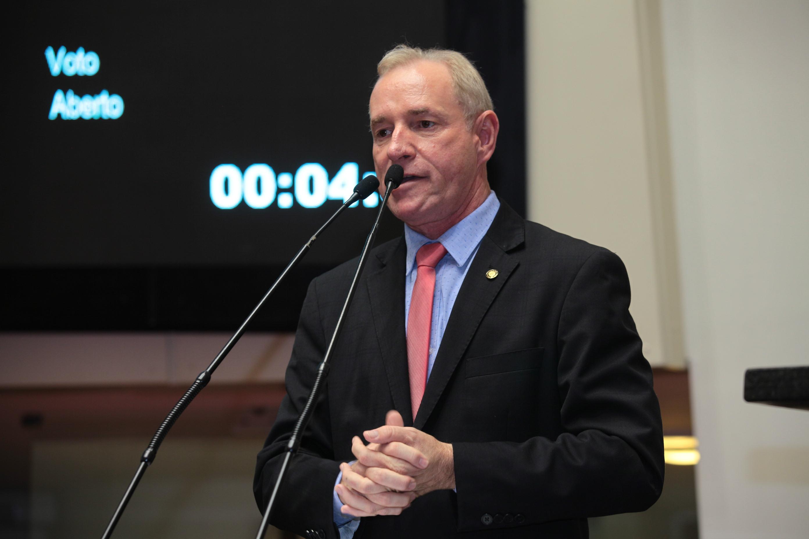 Presidente da Alesc, deputado Aldo Schneider está internado na UTI