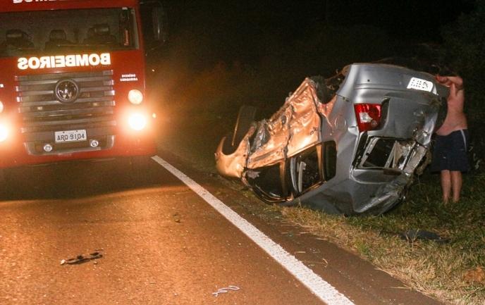 Jovem que sofreu acidente na BR-163 morre no hospital