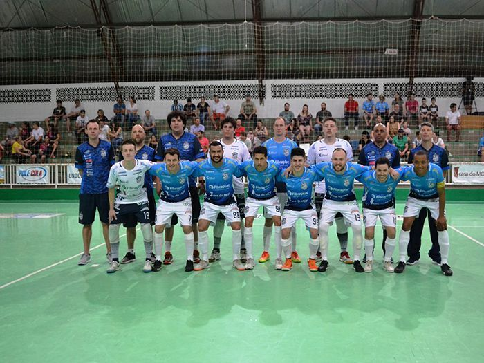Futsal São Lourenço joga pela Copa Santa Catarina de futsal