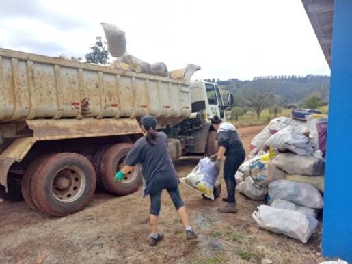 SMO: Coleta no Meio Rural recolheu 50 toneladas de materiais