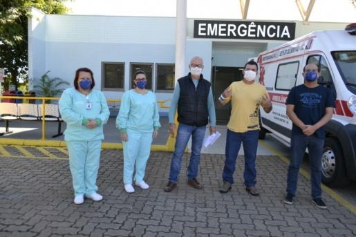 Primeiro paciente confirmado com a Covid-19 tem alta no Hospital Regional de São Miguel do Oeste