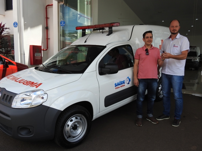 Setor da Saúde de São Miguel do Oeste recebe nova ambulância