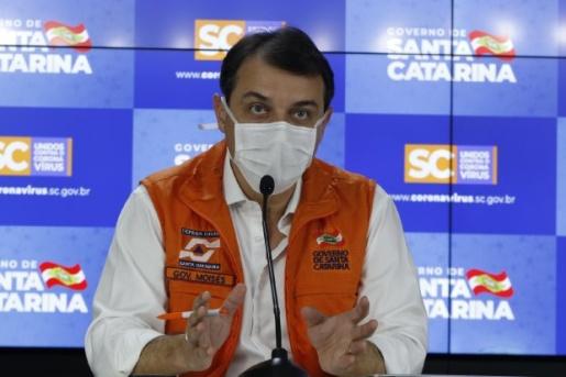 Quarentena é prorrogada por mais 5 dias em Santa Catarina