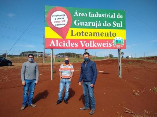 Guarujá do Sul apresenta demandas ao Dnit
