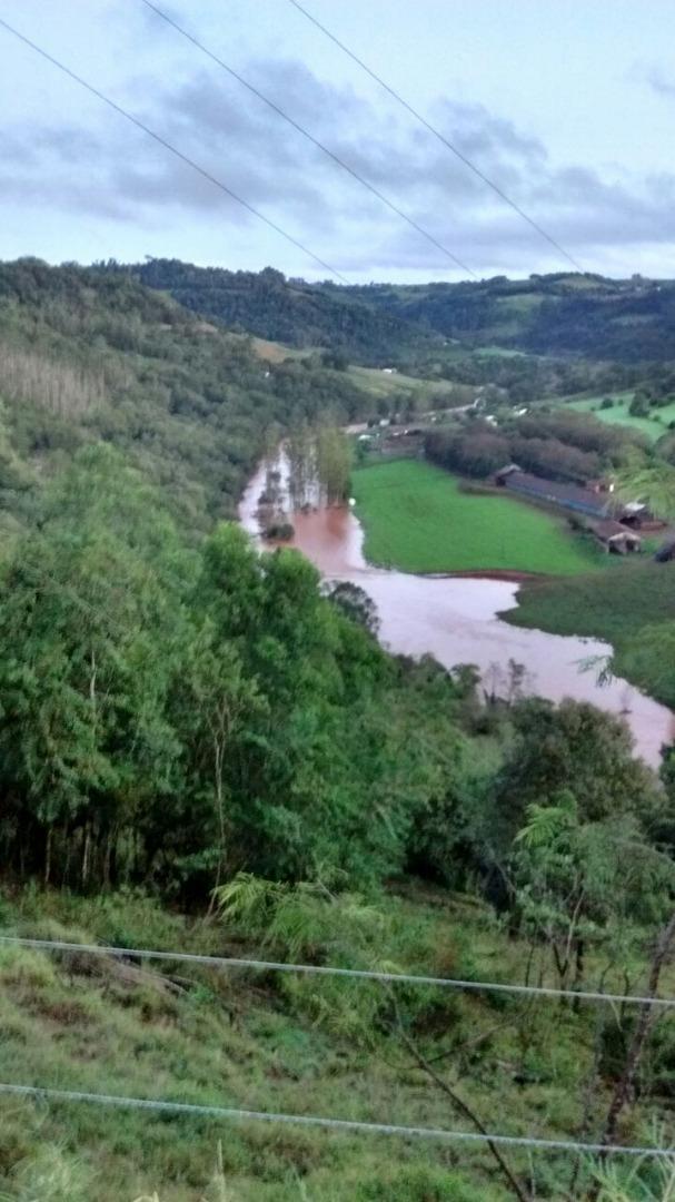 Região registra grande volume de chuva