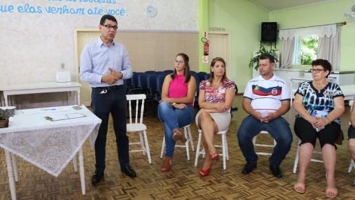 Encontros com grupos dos idosos iniciarão com culto em SJCedro