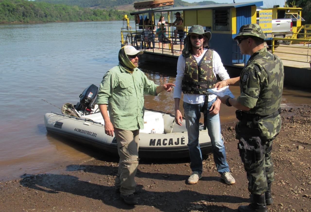 Polícia Militar Ambiental realiza ações de orientação pré-piracema