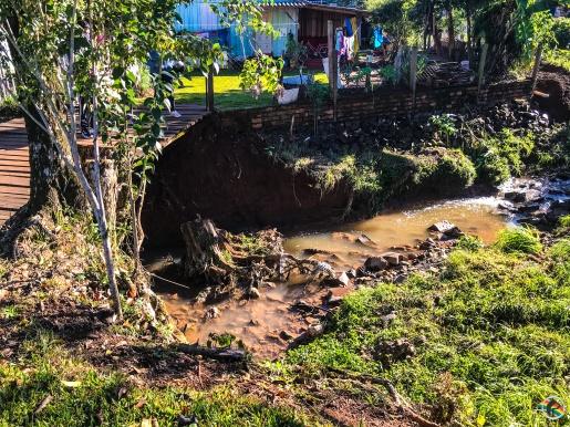 Idoso é encontrado morto dentro de riacho em São Miguel do Oeste