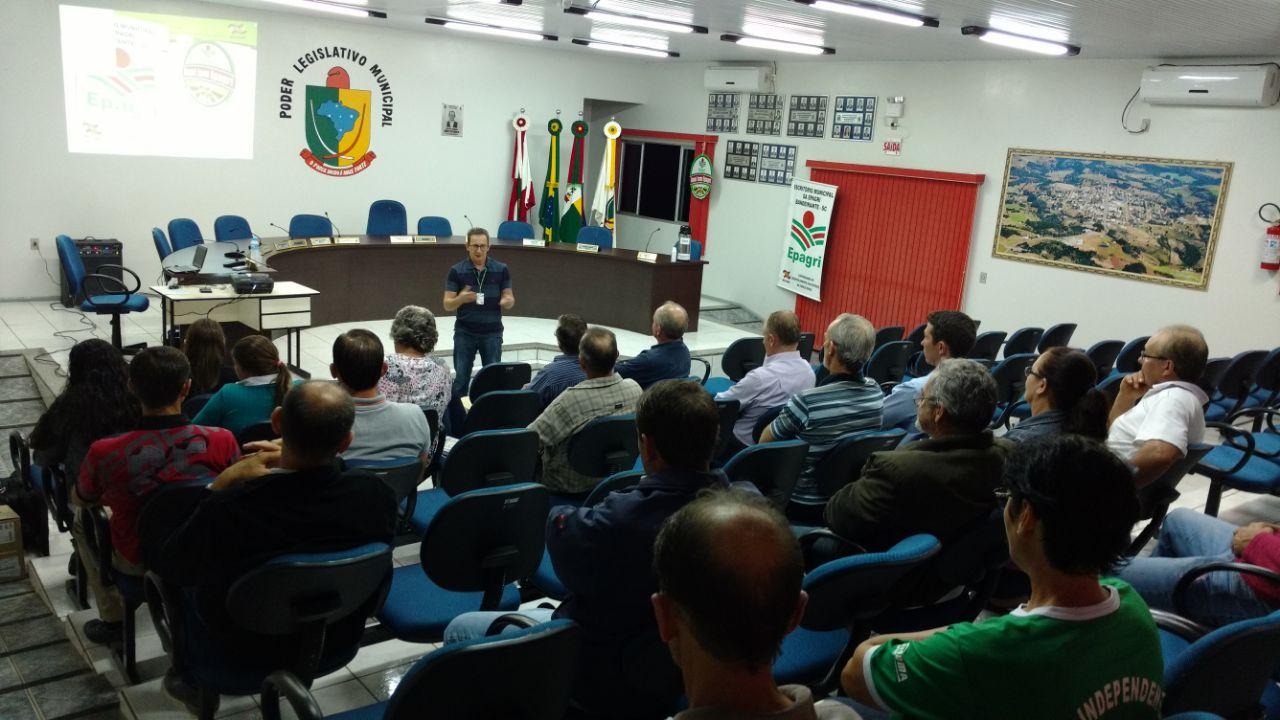 Autoridades participam de Reunião de Sede da Epagri