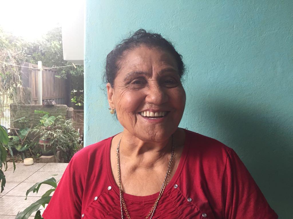 Pioneira fala das dificuldades e do crescimento da região nos últimos anos