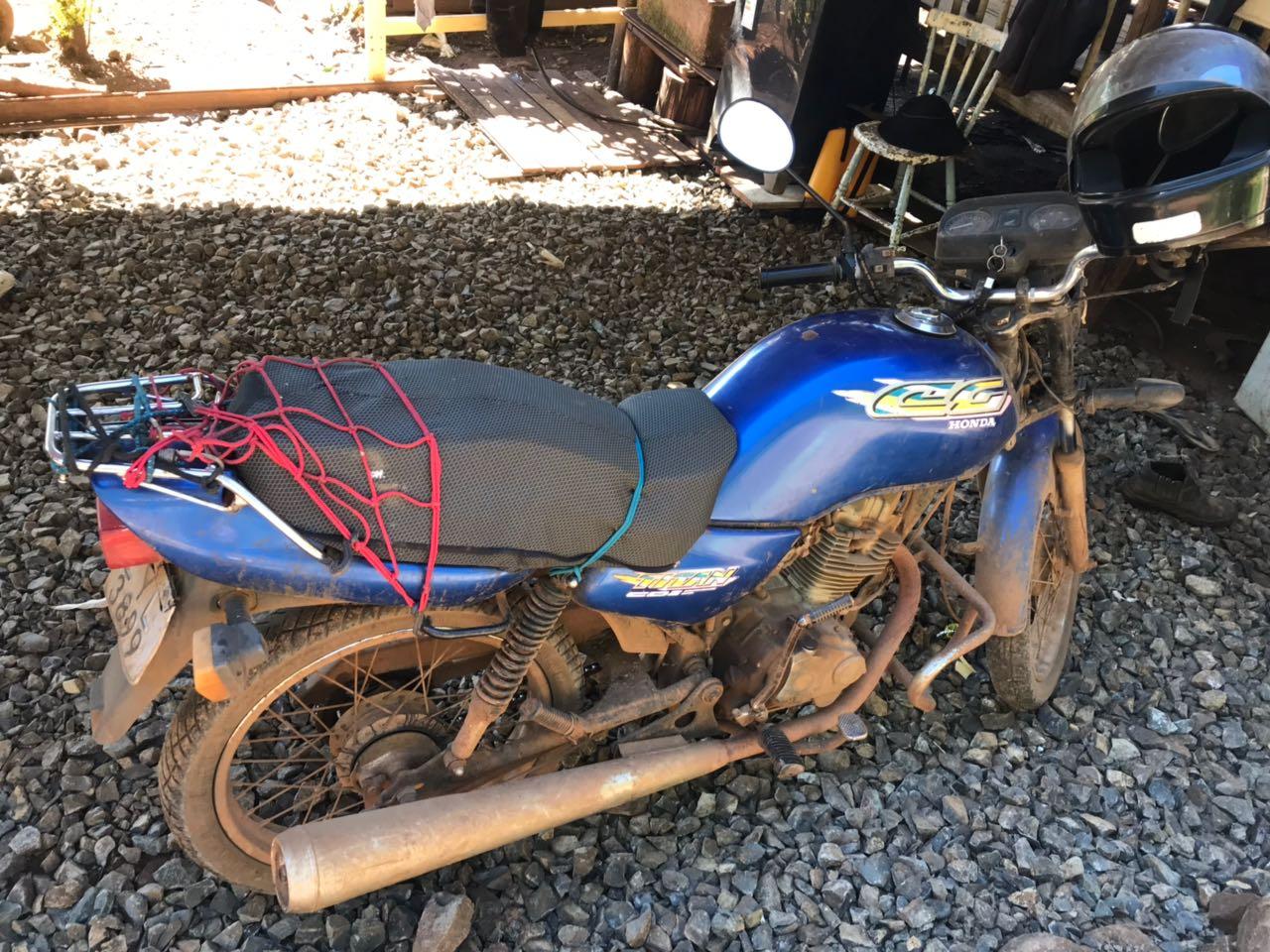 Polícia Civil de Maravilha recupera motocicleta furtada