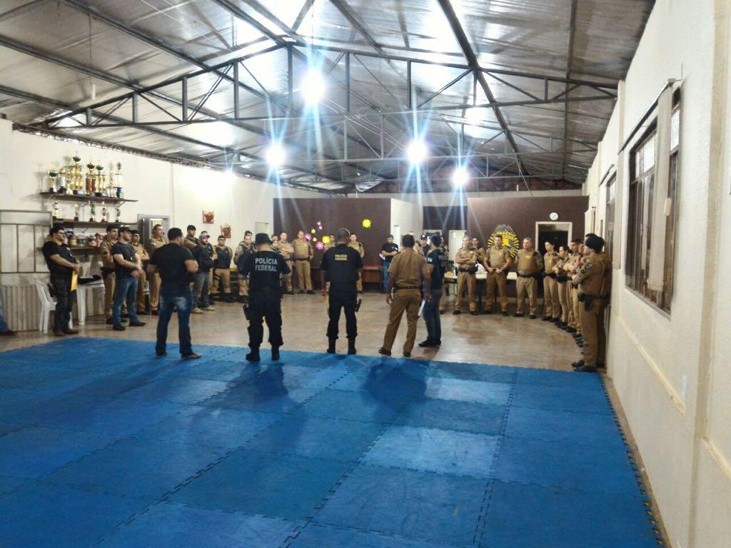 Polícias deflagram operação de combate ao tráfico de drogas