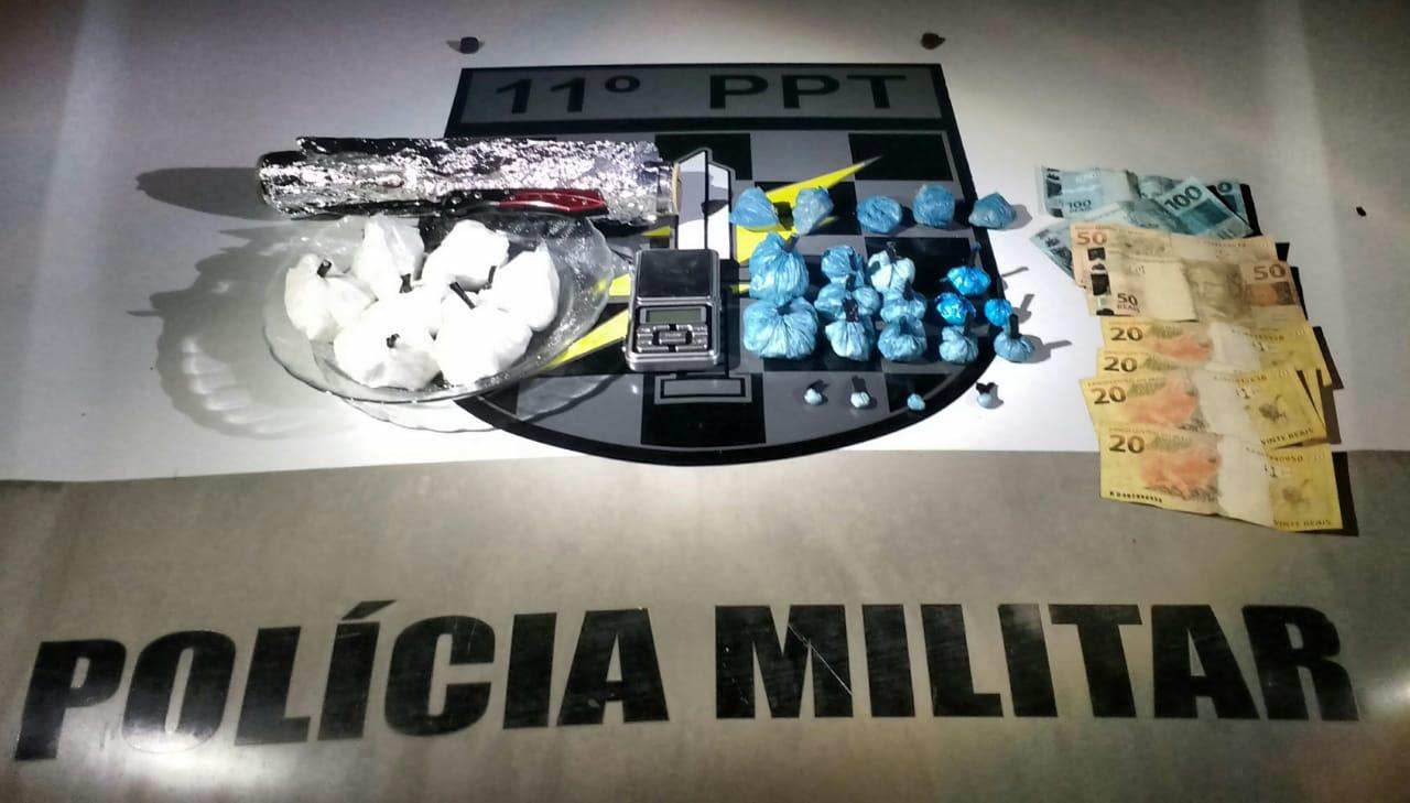 PM realiza prisão por Tráfico Internacional de Drogas em São Miguel do Oeste