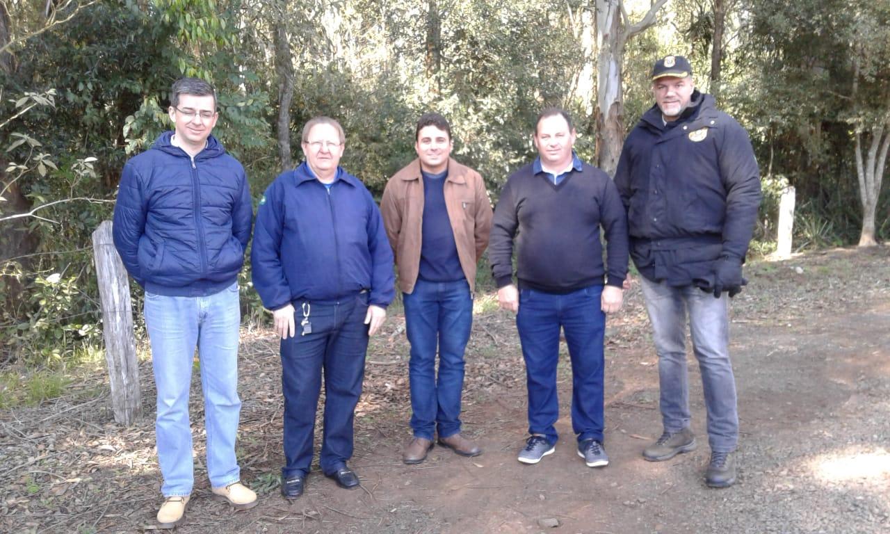Superintendente regional do DNIT faz visita a ponte Internacional Peperi Guaçú