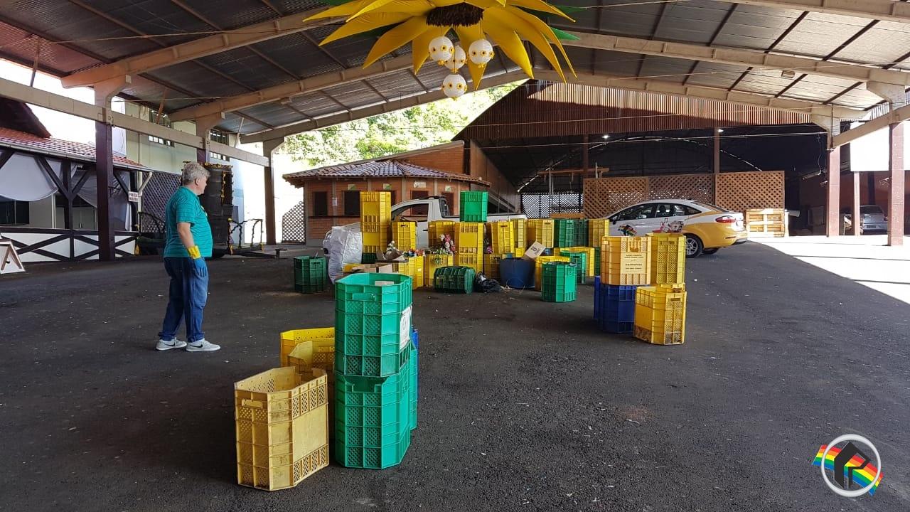 Prefeitura de Itapiranga trabalha em áreas do urbanismo