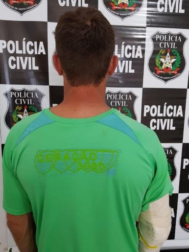 Homem condenado por agredir companheira é preso em Mondaí