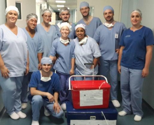 Primeira captação de órgãos do ano é realizada no hospital regional