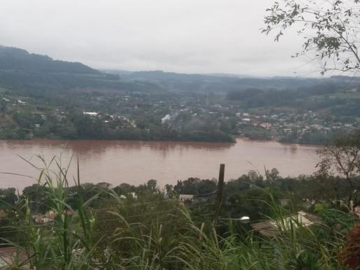 Nível do Rio Uruguai está baixando