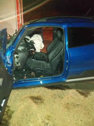 Motorista morre em colisão envolvendo ônibus na BR-282