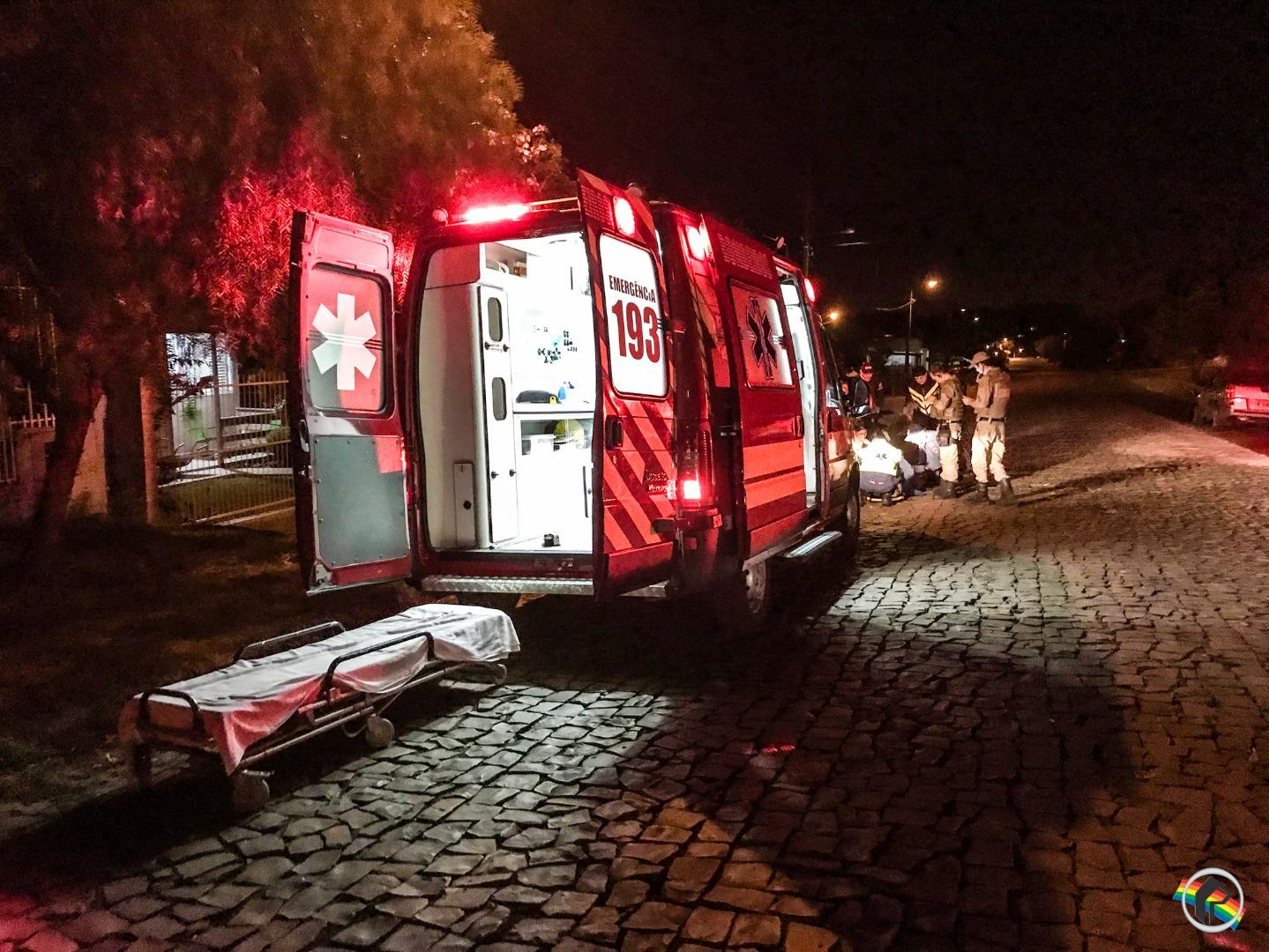 Homem é atropelado por mototaxista em São Miguel do Oeste